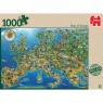 JUMBO 1000 EL Mapa Europy (18337)