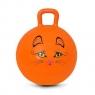 Piłka skacząca Kitty 45cm pomarańczowa