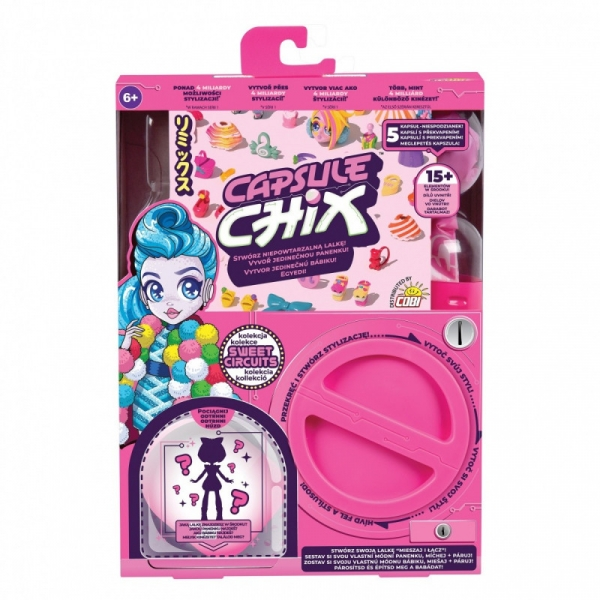 Figurka Capsule Chix 1pak Sweet Circuits (MO-59200)