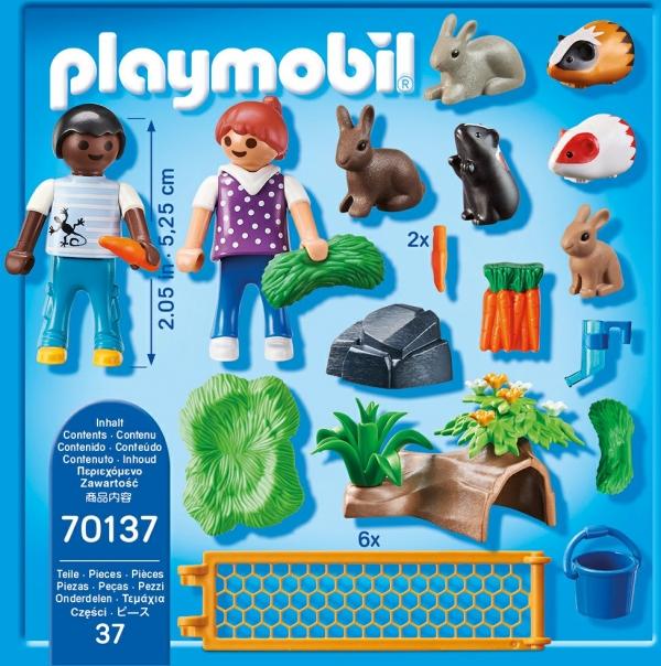 Playmobil Country: Zagroda dla małych zwierząt (70137)