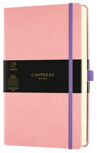 Notatnik 13x21cm linia Castelli Aquarela Cipria