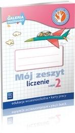 Mój zeszyt. Liczenie. Część 2. Galeria możliwości (2013) (Uszkodzona okładka) 155544  Michał Lisicki, Małgorzata Skura