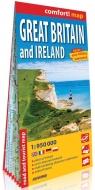 Comfort! map Wielka Brytania i Irlandia 1:950 000 praca zbiorowa