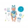 Baby Born: Lalka interaktywna Soft Touch - chłopiec (824375)