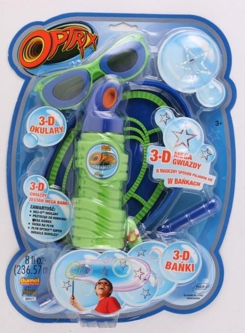 3D Optrix Gwiazdy Mega bańki