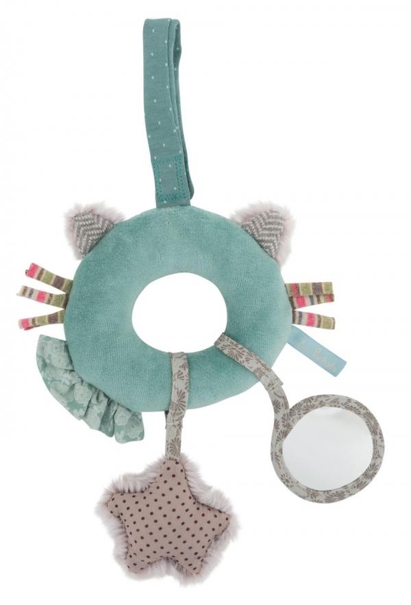 Materiałowa zabawka interaktywna Kotek (660037)