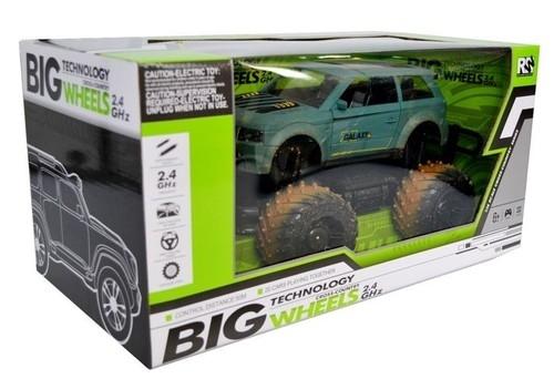 Big wheels samochód terenowy zdalnie sterowany 1:14  (23611BE-4)