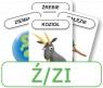 Karty: Logopedyczny Piotruś - Część X, głoska Ź/ZI