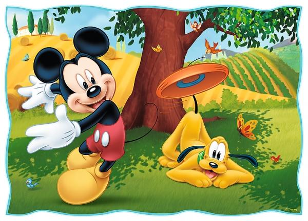 Puzzle 4w1: Zabawy w parku (34261)