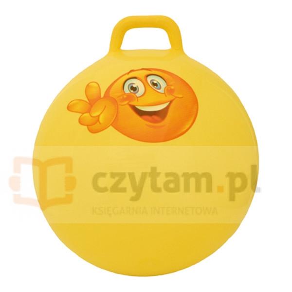 TOOTINY Skoczek Piłka 55 cm, żółta (217)
