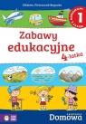 Domowa akademia Zabawy edukacyjne 4-latka Część 1 (Uszkodzona okładka)