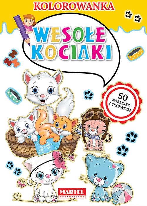 Kolorowanka Wesołe kociaki Ratajszczak Katarzyna, Gdula Adam