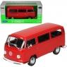 WELLY Volkswagen Bus T2 1972, czerwony (WE22472)