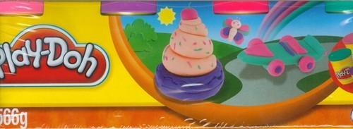 Play-Doh Ciastolina 4 tuby  (22114)