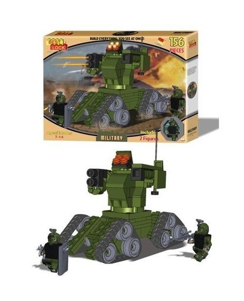 Klocki Best Lock Military Robot-Czołg 149 elementów