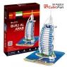 Puzzle 3D budynek burj al. Arab