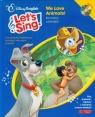 Disney English Let`s Sing! We Love Animals! + CD