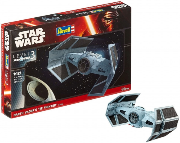 Model do sklejania Star Wars Darth Vaders Tie Fighter (01102)