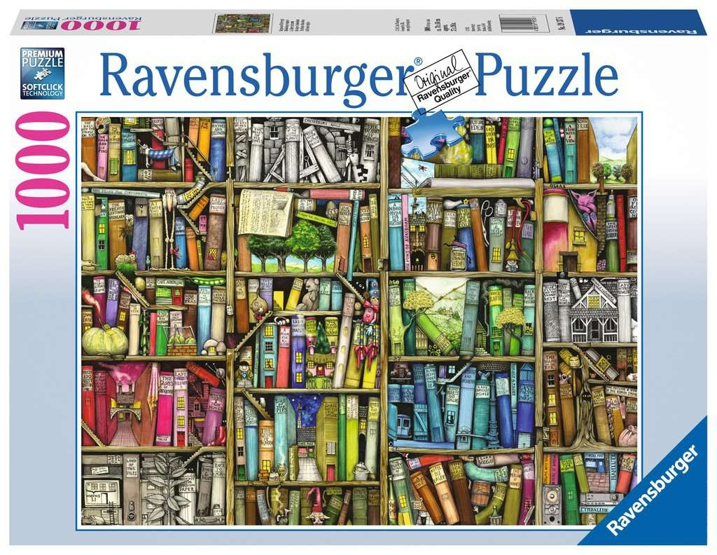 Puzzle 1000: Niezwykła księgarnia (19137)