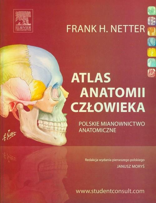 Atlas anatomii człowieka Netter Frank H.