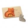 Drewniane puzzle - koty (PLTO-4637)