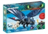 Playmobil Dragons: Szczerbatek i Czkawka z małym smokiem (70037)