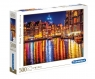 Puzzle High Quality Collection 500: Amsterdam nocą (35037)Wiek: 14+
