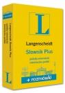 Słownik Plus polsko niemiecki niemiecko polski + rozmówki