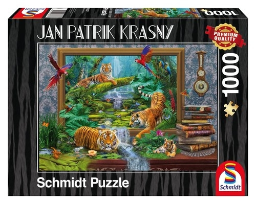 Puzzle Jan Patrik Krasny Tygrysy  1000
