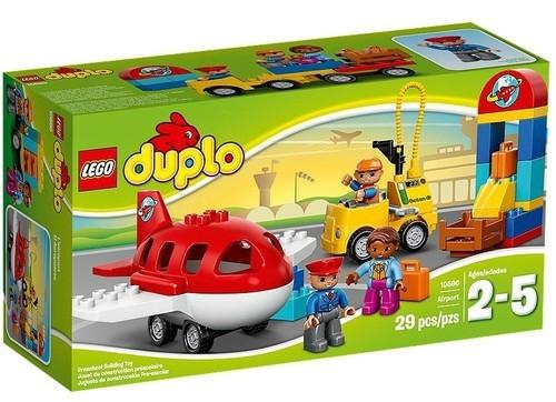 Lego Duplo Lotnisko (Uszkodzone opakowanie) (10590)