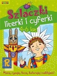 Szlaczki literki i cyferki 4-6 lat Szwabowska Lidia