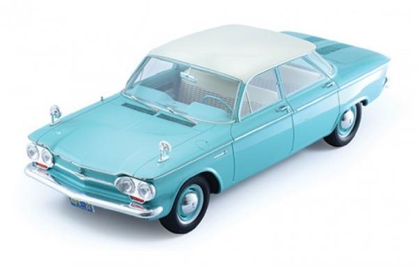 Chevrolet Corvair 4-Doors Sedan 1961 (light green/white roof without showcase) (PR18009)