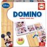 EDUCA Domino Drewniane, Mickey i Minnie (16037)