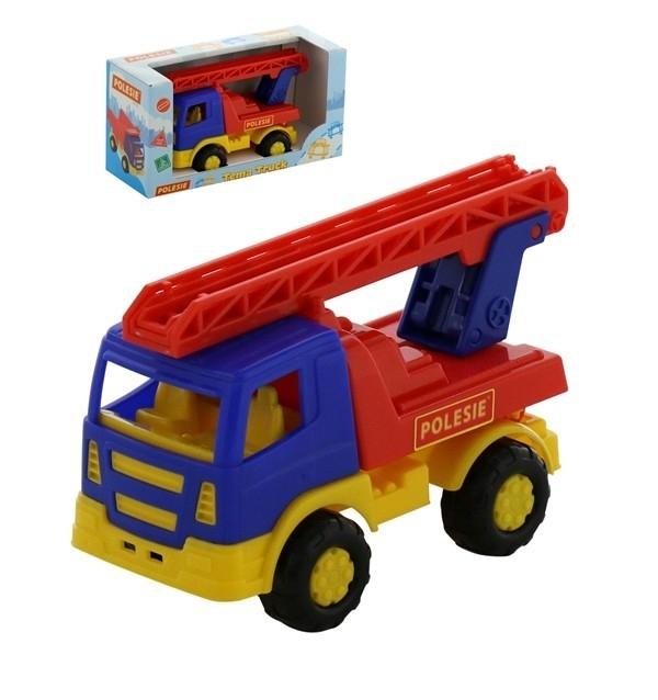 Tioma samochód straż pożarna w pudełku (68378)