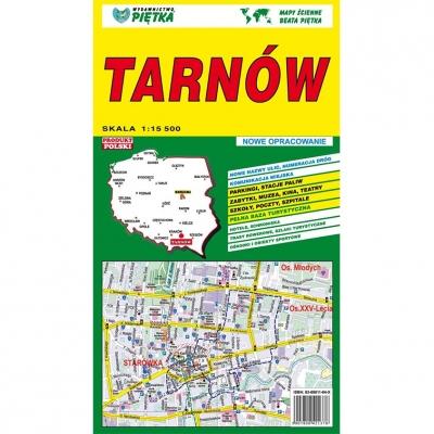 Plan miasta Tarnów Wydawnictwo Piętka