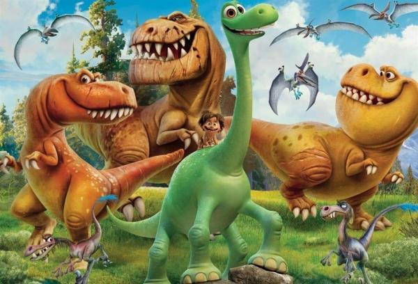 Puzzle 100 Dobry Dinozaur 2 (07237)