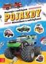 Minialbum z naklejkami Poznaję i naklejam pojazdy
