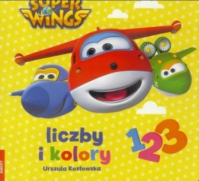 Super Wings Liczby i kolory Kozłowska Urszula