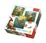 Puzzle Niezwykły świat dinozaurów 3w1 (34837)