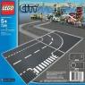 KLOCKI LEGO CITY 7281 SKRZYŻOWANIE I ZAKRĘT