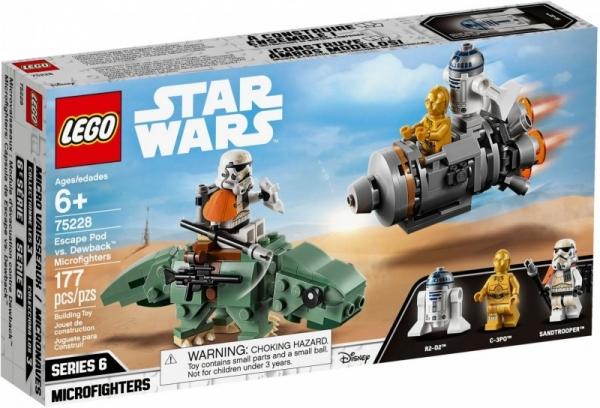 LEGO Star Wars: Kapsuła ratunkowa kontra Dewback (75228)