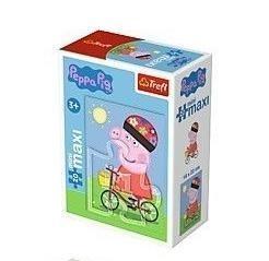 Puzzle 20 miniMaxi - Zabawy Świnki Peppy 2 TREFL (Uszkodzone opakowanie)