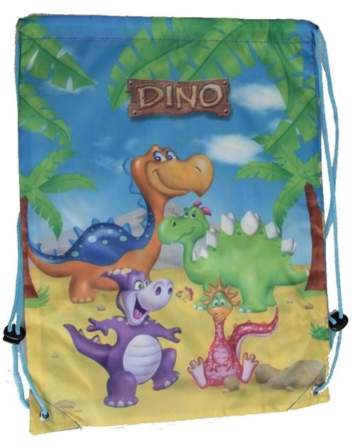 Worek na gimnastykę Dino