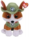 Maskotka Beanie Babies: Psi Patrol - Tracker 24 cm (963370