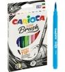 Pisaki Carioca Brush Tip 10 kolorów (42937)