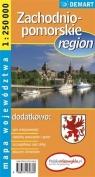 Województwo zachodniopomorskie. Region. Mapa województwa