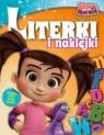 Kasia & Mim - Mim Mądre zabawy książka literki i naklejki 1/2017