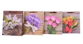 Torebka Lux210 gsm A4 26x32x10 Kwiaty set B ROZETTE