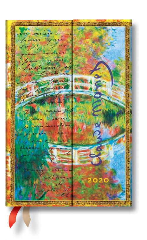 Kalendarz 2020 Mini Horizontal Monet  Letter to Morisot 12m