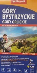 Góry Bystrzyckie i góry Orlickie 1:40 000 Opracowanie zbiorowe